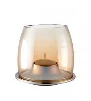 Endon Home Ellison Tealight Holder (Polished Aluminium)