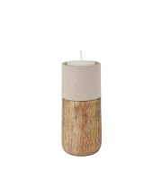 Endon Home Askern Medium Tealight Holder (Polished Sandstone)