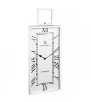 Endon Home Fleetwood Large Wall Clock (Polished Nickel)