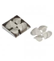 Endon Home Ives Set of 4 Coasters (Brushed Nickel)