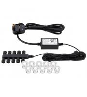 Saxby Lighting Ikon round 30mm kit IP67 0.45W daylight white ()