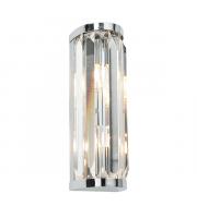 Saxby Lighting Crystal 2lt wall IP44 18W (Chrome)