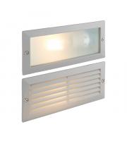 Saxby Lighting Eco plain & louvre IP44 40W