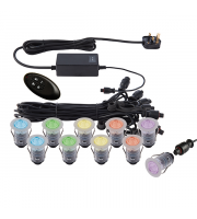 Saxby Lighting IkonPRO 25mm kit IP67 0.75W SW rgb (Steel) ()