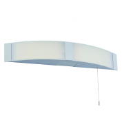 Saxby Lighting Onan shaver White IP44 6W SW cool white (Chrome)