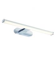 Saxby Lighting Moda 1lt wall IP44 8W daylight white (Chrome)