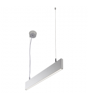 Saxby Lighting Kingsley 600MM 25W cool white (Silver)