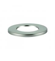 Saxby Lighting ShieldECO CCT Satin nickel bezel