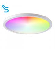 Saxby Lighting Smart Halo IP44 18W warm white