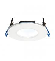 Saxby Orbital Plus IP65 9W LED Downlight (Warm White)