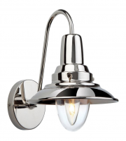 Firstlight 8686CH Fisherman One Light Wall Light In Chrome