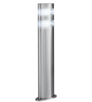 Searchlight Stainless Steel Ip44 24 Led Outdoor Post Light With Clear Polycarbonate Diffuser