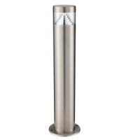 Searchlight Stainless Steel Ip44 30 Led Outdoor Post Light With Clear Polycarbonate Diffuser