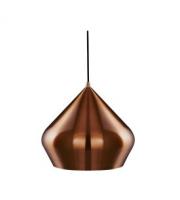 Searchlight Vibrant Copper Pyramid Pendant Light SALE ITEM