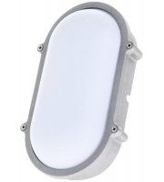 Timeguard 15W LED Energy Saving Oval Bulkhead (Silver)