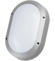 Timeguard 20W LED Oval Energy Saver Bulkhead (Silver)