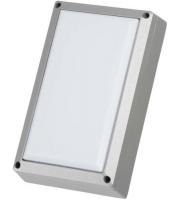 Timeguard 10W LED Rectangle Bulkhead (Silver)