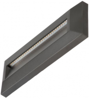 Timeguard 1.6W Horizontal Step Light (Dark Grey)