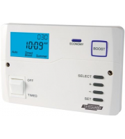 Timeguard Economy 7 Digital Timeswitch with Boost Control (White)