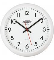 Timeguard 12 Inch Delhi Quartz Clock (White)