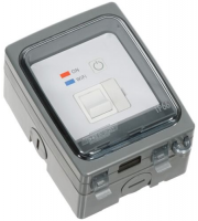 Timeguard Wi-Fi Controlled IP66 Fused Spur (Grey)