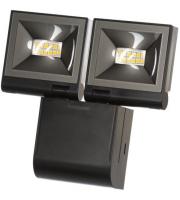 Timeguard 2x 10W LED Compact Floodlight Single Flood – Black