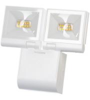 Timeguard 2x 10W LED Compact Floodlight Single Flood – White
