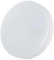Timeguard 18W Slimline Microwave Led Round Wall/ceiling Light - White