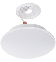 Timeguard 18W Led Internal Bulkhead Emergency Microwave Sensor - White