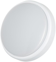 Timeguard 12W Slimline Microwave Led Round Wall/ceiling Light - White