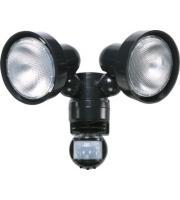 Timeguard 150W Multi-pir Twin Spot Light (Black)
