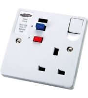 Timeguard Rcd Single White Socket