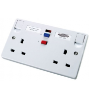 Timeguard Rcd Double White Socket