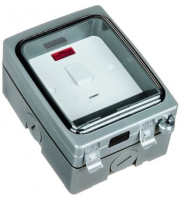 Timeguard Single Gang 13A Rcd Fused Spur