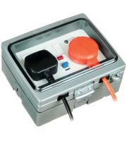 Timeguard Twin Gang 13A Switched Rcd Socket (active)
