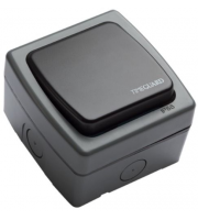 Timeguard Single Gang Bell Push Switch