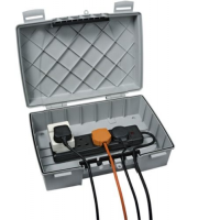 Timeguard Multi Box (IP55) With Hinged Lid And 4 Gang Socket Strip