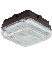 Ansell Astro 28W CFL IP65 Emergency Bulkhead (Black)