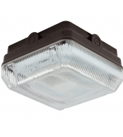 Ansell Astro 28W CFL IP65 Bulkhead with Microwave Sensor (Black)