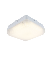 Ansell Astro 8W IP65 LED Bulkhead with Photocell (White)