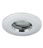 Ansell IP65 MR16/GU10 Die Cast Bathroom Downlight (Chrome)
