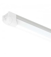 Ansell 25W 1200mm Airbeam Dimmable Microwave & Emergency LED Batten (White)