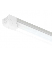 Ansell 43W 1500mm Airbeam 4000K Dimmable LED Batten Microwave Sensor (White)