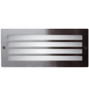 Ansell 40W E27 Grill Bricklight (Stainless Steel)
