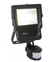 Ansell 10W Carina 3000K Polycarbonate LED Floodlight with PIR (Warm White)