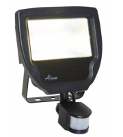 Ansell 20W Carina 3000K Polycarbonate LED Floodlight with PIR (Warm White)