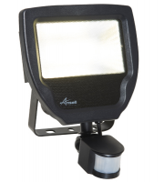 Ansell 30W Carina 4000K Polycarbonate LED Floodlight with PIR (Cool White)