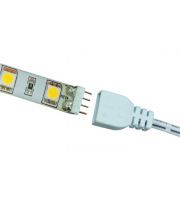 Ansell Cobra Strip 1000mm Mains Lead LED  for Plug and Play Flexible Strip (White)