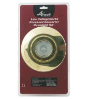 Ansell 50W Low Voltage/GU10 Converter Kit (Brass)