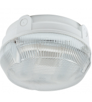 Ansell Delta 16W Cfl Electronic Photocell Bulkhead (White/Opal)